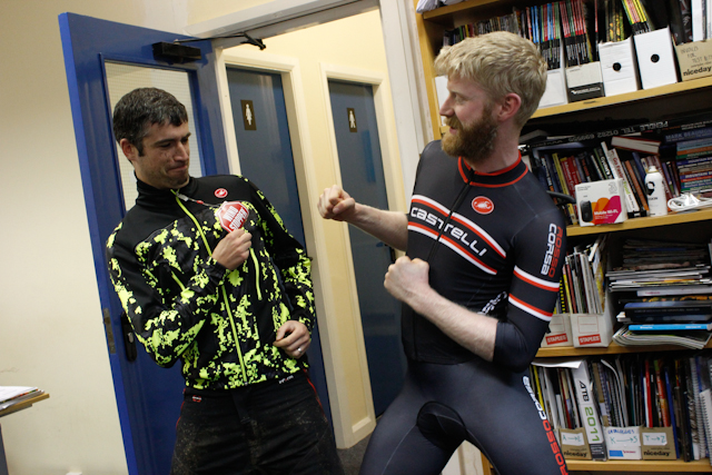 It's fisticuffs for the castelli brothers