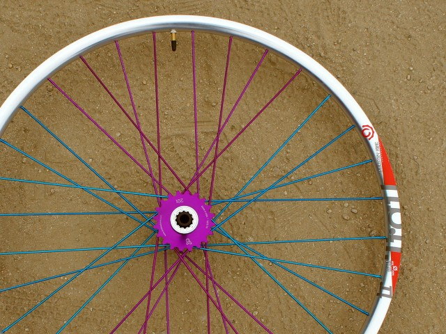 With great colour comes great responsibility. (alloy rims shown)
