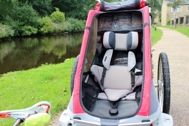thule cougar one 1 trailer buggy child children review