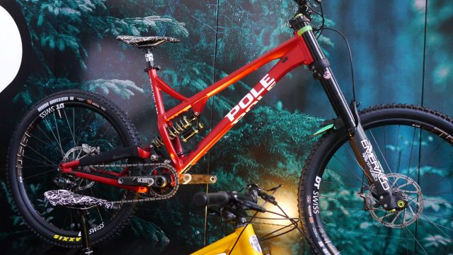 This is the Pole Evolink 176 downhill bike.