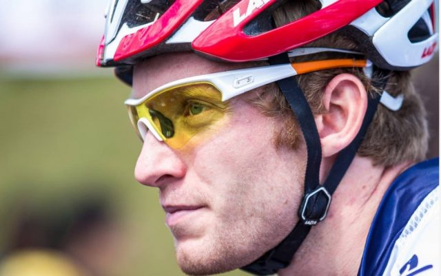 Grant Ferguson: excluded by UK Sport. Image Credit: British Cycling website.