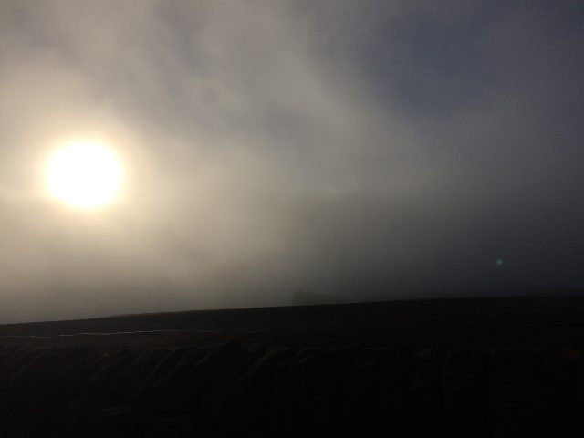 Sun through the clouds - like support from your friends?