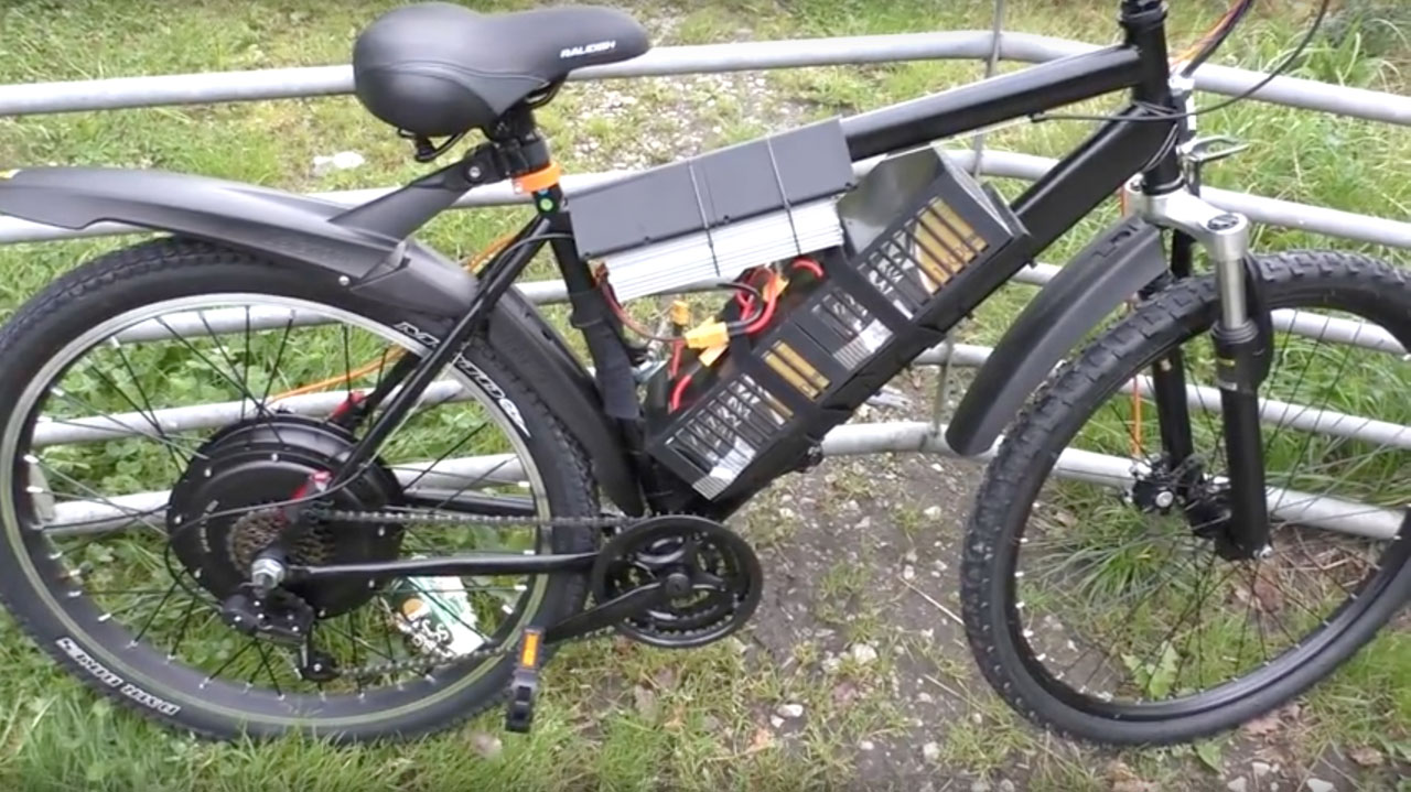 UK's most illegal ebike