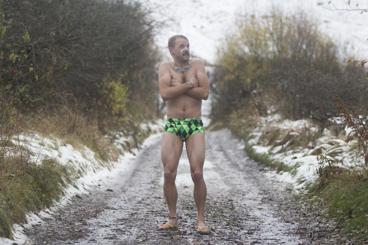wil winter snow cold bathers budgie smugglers goggles