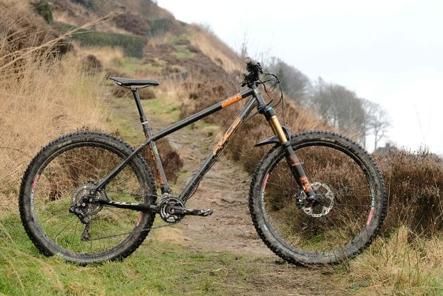 pace rc127+ hardtail steel reynolds 853 plus 2.6in