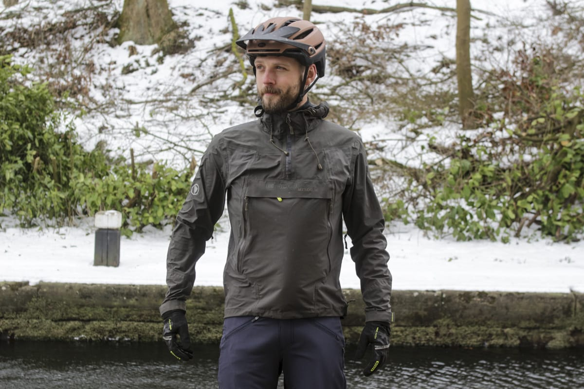 endura mt500 pullover waterproof jacket wil snow
