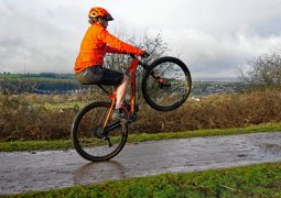 rachel genesis mantle hardtail carbon orange