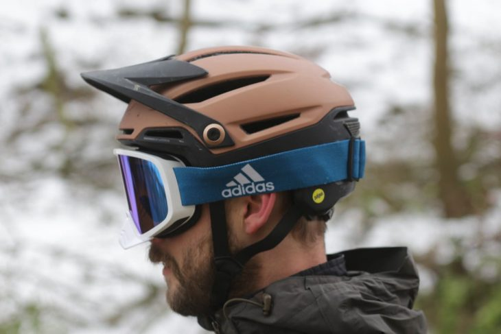 bell sixer helmet wil goggle adidas