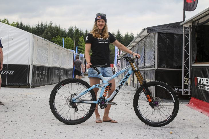 fort william world cup ajw rachel atherton trek