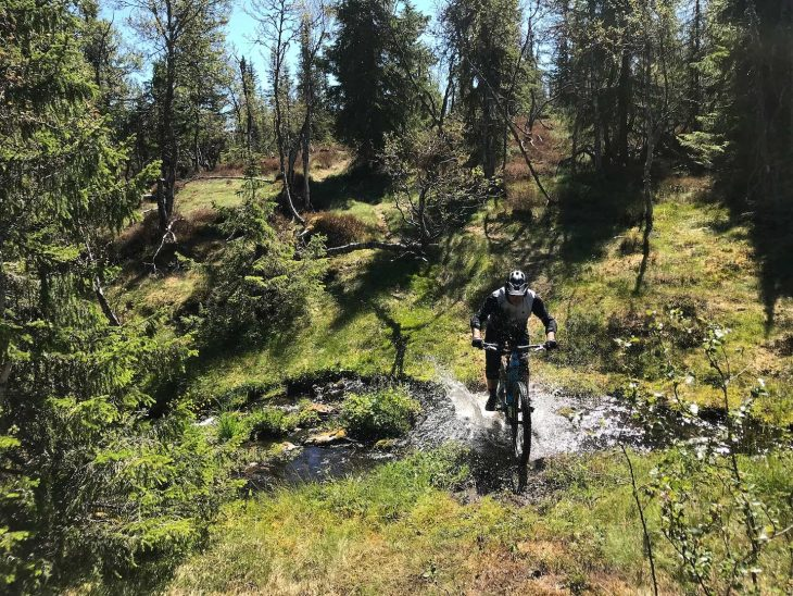 gt force gt sensor first impressions review first look trysil bike arena