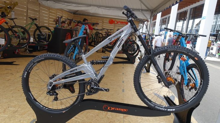 orange 329 downhill prototype 29er