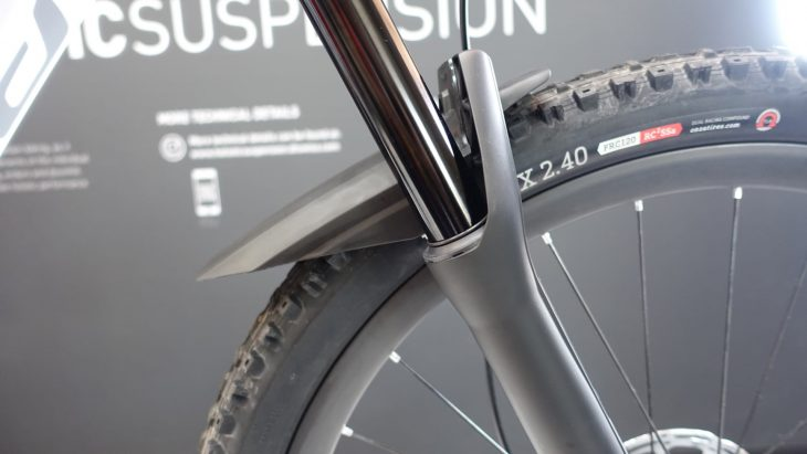 dt swiss f 535 one fork suspension mudguard